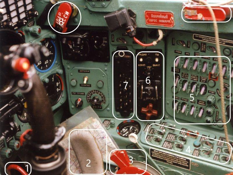 Cockpit rechts vorn