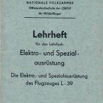 Elektro- und Spezialausrüstung L-39