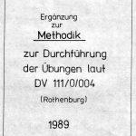 Methodik FAG-25, Ergänzung 1989