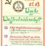 Woche der Waffenbrüderschaft
